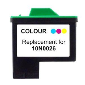 Compatible Lexmark 26 (10N0026) Colour ink cartridge - 275 pages