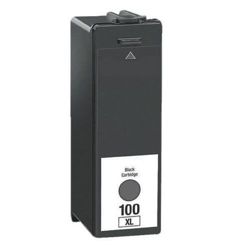 Compatible Lexmark 100XLB (14N1068AAN) Black High Yield ink cartridge - 510 pages