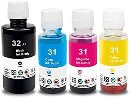 Compatible HP 31 (1VU28AA Yellow ink bottle - 8,000 pages