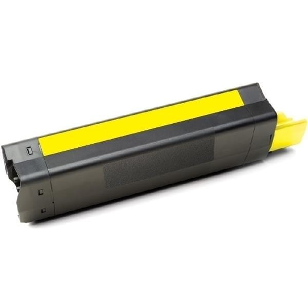 Compatible OKI 43872309 Yellow Laser C5650 - 6,000 pages