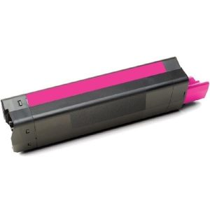 Compatible OKI 43872310 Magenta Laser toner - 6,000 pages