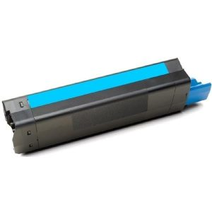 Compatible OKI 43872311 Cyan Laser toner - 6,000 pages