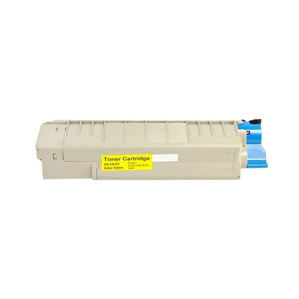 Compatible Oki 44315309 Yellow toner cartridge - 6,000 pages