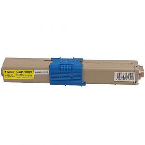 Compatible Oki 44469755 Yellow toner cartridge - 2,000 pages