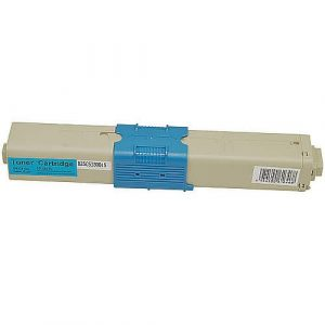 Compatible Oki 44469757 Cyan toner cartridge - 2,000 pages