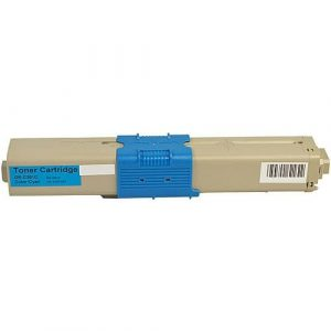 Compatible Oki 44973547 Cyan toner cartridge - 1,500 pages