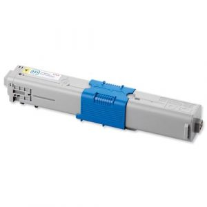 Compatible Oki 44973553 Yellow toner cartridge - 6,000 pages