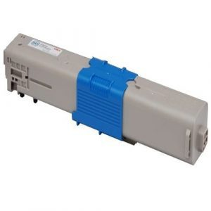 Compatible Oki 46490611 Cyan toner cartridge - 6,000 pages