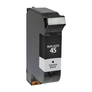 Compatible HP 45 (51645AA) Black ink cartridge - 833 pages