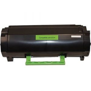 Compatible Lexmark 60F3H00 (603H) Black High Yield toner cartridge - 10,000 pages