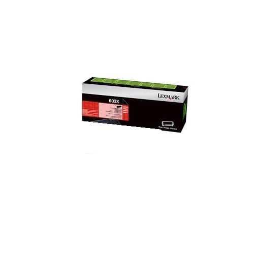 Genuine Lexmark 60F3X00 (603X) Black Extra High Yield toner cartridge - 20,000 pages