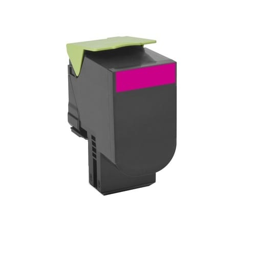 Compatible Lexmark 70C8HM0 (708H) Magenta High Yield toner cartridge - 3,000 pages