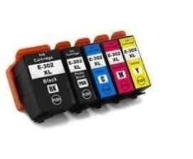 Compatible Epson 302XL Cyan ink cartridge - 650 pages
