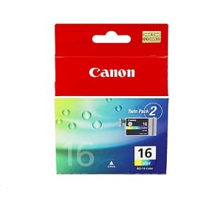 Genuine Canon BCI-16 Colour ink cartridge 2pk - 100 pages