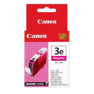 Genuine Canon BCI-3E Magenta ink cartridge - 280 pages