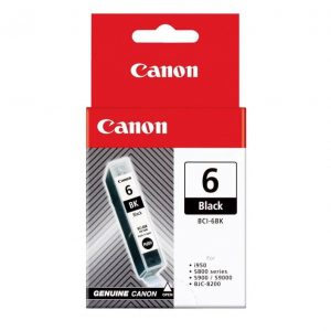 Genuine Canon BCI-6 Black ink cartridge - 280 pages