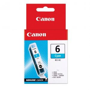 Genuine Canon BCI-6 Cyan ink cartridge - 100 pages