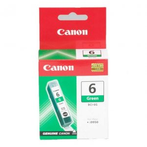 Genuine Canon BCI-6 Green ink cartridge - 100 pages