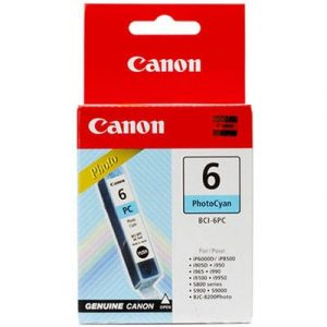 Genuine Canon BCI-6 Photo Cyan ink cartridge - 100 pages