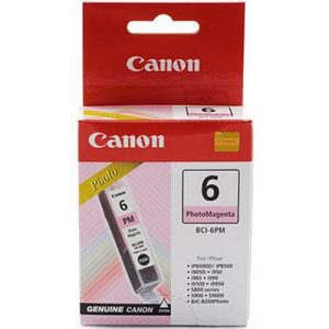 Genuine Canon BCI-6 Photo Magenta ink cartridge - 100 pages