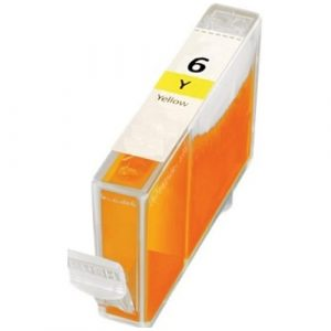Compatible Canon BCI-6 Yellow ink cartridge - 820 pages
