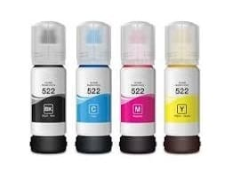 Compatible Epson T522 EcoTank Yellow ink bottle - 7,500 pages