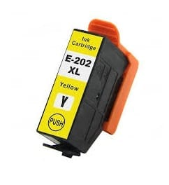 Compatible Epson 202XL Yellow ink cartridge - 470 pages
