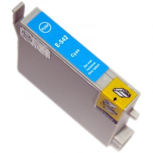 Compatible Epson T0542 Cyan ink cartridge - 440 pages