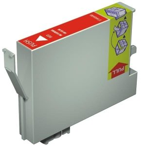 Compatible Epson T0547 Red ink cartridge - 440 pages