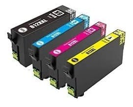 Compatible Epson 812XL Yellow ink cartridge - 1,100 pages