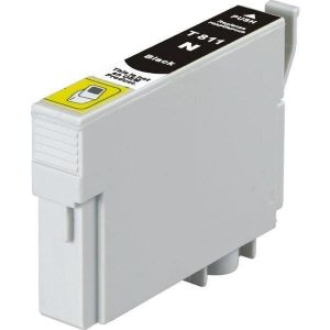 Compatible Epson 81N (T1111) Black High Yield ink cartridge - 480 pages