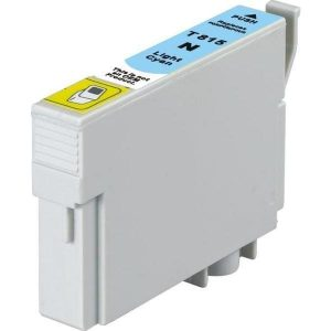 Compatible Epson 81N (T1115) Light Cyan High Yield ink cartridge - 855 pages