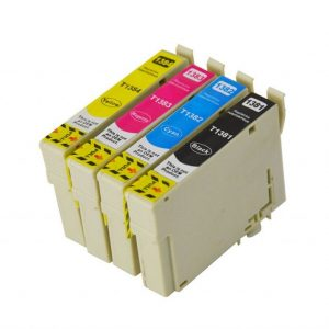 Compatible Epson 138 Value Pack 4pk (B,C,M,Y) - see singles for yield