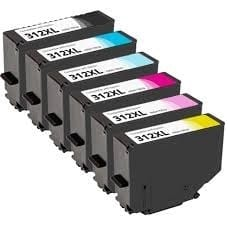 Compatible Epson 252XL Value Pack 4pk (B,C,M,Y) - see singles for yield