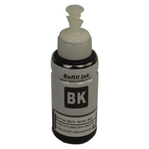 Compatible Epson T664 EcoTank Black ink bottle - 70ml