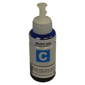 Compatible Epson T664 EcoTank Cyan ink bottle - 70ml