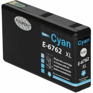 Compatible Epson 676XL Cyan ink cartridge - 1,200 pages