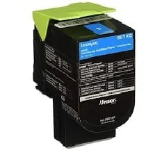 Remanufactured Lexmark C236HC0 Cyan toner cartridge 2,300 pages