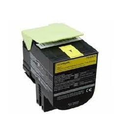 Remanufactured Lexmark C236HY0 Yellow toner cartridge 2,300 pages