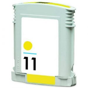 Compatible HP 11 (C4838AA) Yellow ink cartridge - 1,830 pages