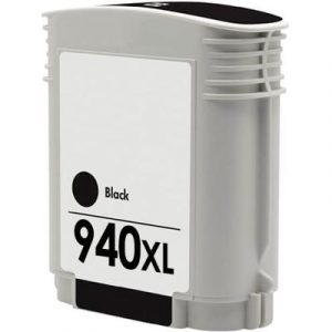 Compatible HP 940XL (C4906AA) Black High Yield ink cartridge - 2,200 pages