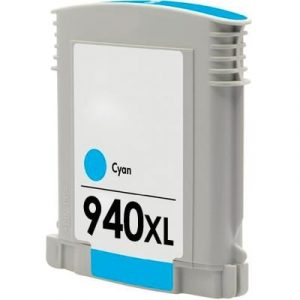Compatible HP 940XL (C4907AA) Cyan High Yield ink cartridge - 1,400 pages