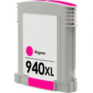 Compatible HP 940XL (C4908AA) Magenta High Yield ink cartridge - 1,400 pages