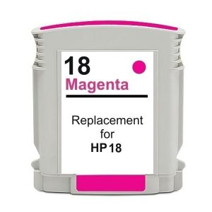 Compatible HP 18 (C4938A) Magenta ink cartridge - 900 pages