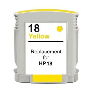 Compatible HP 18 (C4939A) Yellow ink cartridge - 900 pages