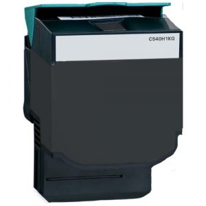 Compatible Lexmark C540H1KG (C540) Black High Yield toner cartridge - 2,500 pages