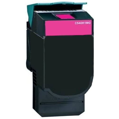Compatible Lexmark C540H1MG (C540) Magenta High Yield toner cartridge - 2,000 pages