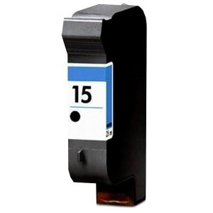 Compatible HP 15 (C6615DA) Black ink cartridge - 495 pages