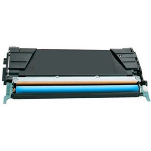 Compatible Lexmark C734A1CG (C734) Cyan toner cartridge - 5,000 pages