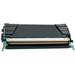 Compatible Lexmark C734A1KG (C734) Black toner cartridge - 7,000 pages